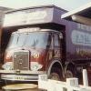 Stranraer Fair Showmen's Lorries in October 1973