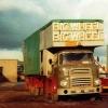 Stranraer Fair Showmen's Lorries in October 1974
