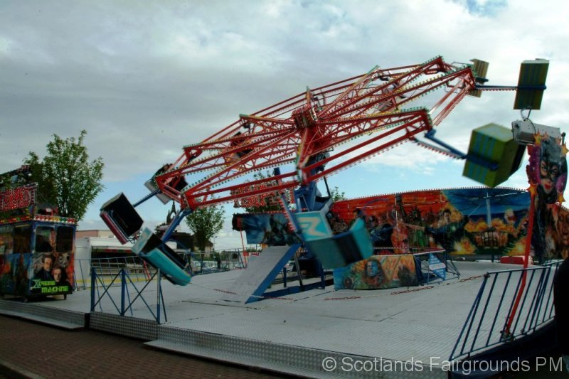 Time capsule coatbridge 2008 scotlands fairgrounds