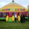 Billy White Inflatable Moonwalk at Burntisland 2007
