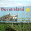Burntisland Seaside Funfair Sign at Burntisland 2007
