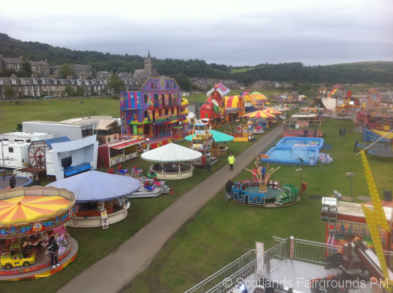 Burntisland Fairground 2012 | Scotlands Fairgrounds