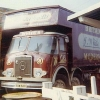 Stranraer Fair Showmen's Lorries in October 1973